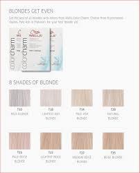 Wella Demi Permanent Hair Colour Chart Wella Color Charm Chart Www Bedowntowndaytona Com