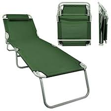folding lawn lounge chairs. Exellent Lawn Flexzion Patio Lounge Chair Army Green  Portable Folding Chaise Bed For  Outdoor Indoor Furniture Home In Lawn Chairs I