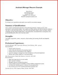 Inspirational Assistant Manager Cv Excuse Letter