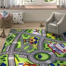 driving fun area rug fun area rugs bright fun area rugs