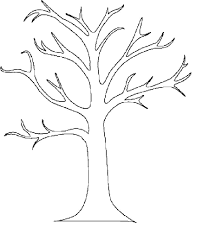 Small Picture Tree With No Leaves Coloring Page Virtrencom