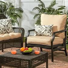 deep seat outdoor cushions deep seat outdoor back and seat cushion set w x l deep seat patio cushions sunbrella