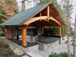 4 ways to improve your outdoor kitchen belknap landscape pertaining to outdoor kitchen roofs outdoor kitchen