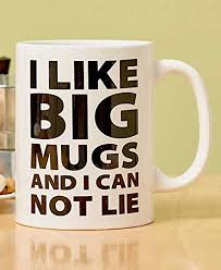 big mugs online. Delighful Online Giant 64Oz U0026quotI Like Big Mugsu0026quot Coffee Mug With Mugs Online M