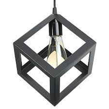 e27 loft industrial retro metal iron pendant lamp shade ac 110 220v village square light