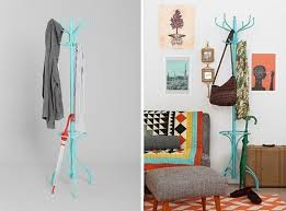 Teal Coat Rack