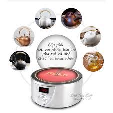 Bếp điện hồng ngoại mini nhỏ gọn dùng pha trà cà phê cafe Moka bialetti Q9A  - Bếp điện kết hợp