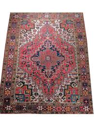 semi antique wool persian rug heriz azra oriental rugs fine persian rugs turkish rugs atlanta oushak rugs atlanta caucasian rugs atlanta handmade