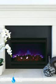 large image for recessed electric fireplace no heat linear best insert fireplaces