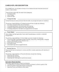 indeed sample resume resume child care job description for to caregiver samples indeed