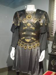 Gladiator Movie Costume Design Commodus Costume And Throne From Gladiator On Display
