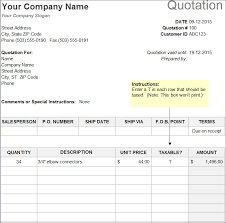free price quote template 10 sample estimate templates free word pdf excel formats