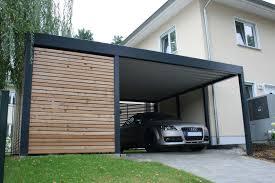 Design Metall Carport Aus Holz Stahl Mit Ger Teraum Individuell Carport Kaufen