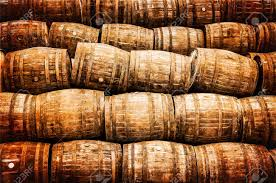 stack wine barrels. Stacked Pile Of Old Whisky And Wine Wooden Barrels In Vintage Style Stock Photo - 24106829 Stack N