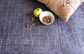 Soft Maps: Wrap Up & Keep Warm with Way-Finding Quilts & They ... Adamdwight.com