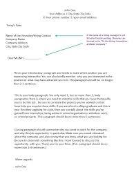 4 sentence cover letter online cover letter format sample letters formats