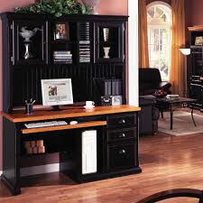 black desks for home office. perfect office image of computer desk hutch style throughout black desks for home office