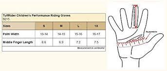 Tuffrider Childrens Performance Gloves
