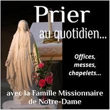 Prier avec la Famille Missionnaire de Notre-Dame - Podcast Domini