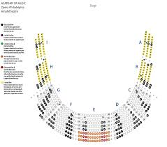 Academy Of Music Seating Chart Parquet Views Online Charts Collection