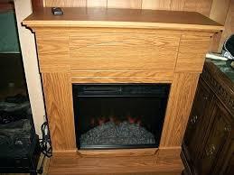 oak electric fireplace aurora oak electric fireplace mantel package cabaret electric fireplace entertainment center in distressed