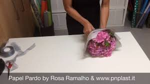 How To Wrap Flower Bouquet In Paper Flowers Wrap Bouquet Wrapflowers