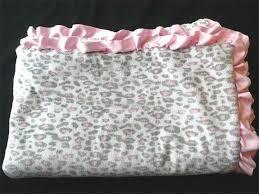 baby blanket leopard cheetah print