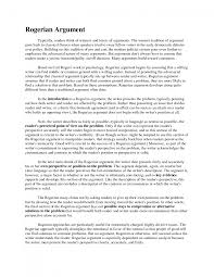cover letter an example of a argumentative essay an example of a   cover letter academic argument essay examplean example of a argumentative essay large size
