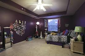ceiling fans with lights for bedrooms dark purple wall paint colors walls accent bedroom
