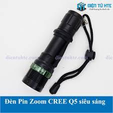 Đèn Pin Zoom mini CREE Q5 siêu sáng