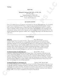 Icu Nurse Resume Template Resume For Study