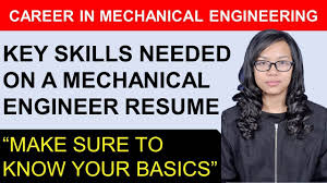 Key Skills Highlighted In A Mechanical Engineering Resume