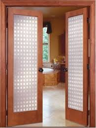 amazing interior french door with frosted glass 19 prehung a great example sidelight transom and arched side panel blind built in