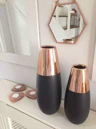 contemporary ceramic rose gold copper