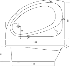 fashionable typical bathtub size dimensions of a bathtub dimensions of a standard bathtub bathtub size corner