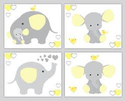 image is loading yellow grey gray elephant neutral nursery wall art  on yellow and grey wall art nursery with yellow grey gray elephant neutral nursery wall art prints jungle