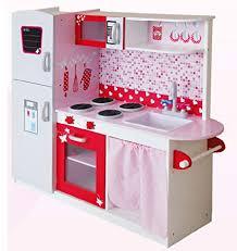 Cocina Grande Y Brillante De Lujo Royal Cocina Madera Infantil Cocina De  Juguete Accesorios Para Niñas