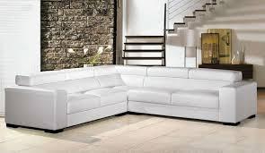comfortable white sectional sofa for elegant living room design