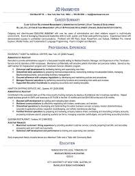Executive Assistant Resume Objective Free Administrative assistant Resume Templates Proyectoportal 91