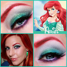 attractive ariel makeup with regard the stylethe little mermaid tutorial ariel makeup best little mermaid makeup