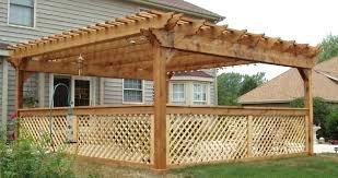 building pergolas attached to house pergola plans be equipped attached to house plans build a pergola