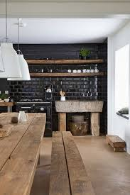 Kitchen: Industrial Rustic Kitchen With Wood Accents - Vintage Kitchen