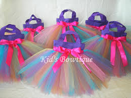 Fairy Birthday Party Decorations Set Of 6 Rainbow Fairy Party Favor Tutu Bags Birthday Party