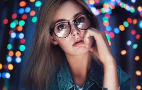 Girl Glasses Wallpapers - Top Free Girl Glasses Backgrounds - WallpaperAccess