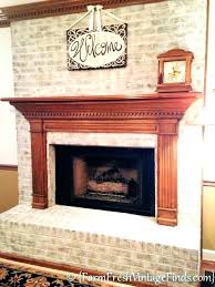 cleaning brick fireplace best s to clean brick fireplaces how whitewash bricks chalk paint old white cleaning brick fireplace