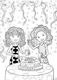 Verjaardag Kleurplaten Groovy Girls
