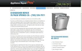 Ge Dishwasher Repair Service Home Appliance Repair In Palm Springs Ca Palm Springs Appliance