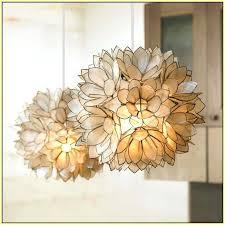 capiz lotus flower chandelier lotus flower chandelier pottery barn capiz lotus flower chandelier large