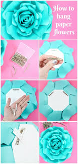 Hanging Paper Flower Backdrop How To Hang Paper Flowers 8 Easy Ways To Hang Paper Flowers