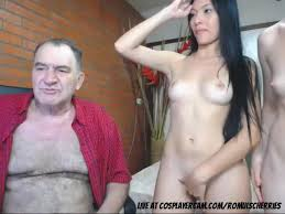 Old man fuck asian